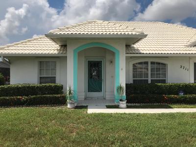 Port Saint Lucie Single Family Home Contingent: 2711 SE Eagle Drive