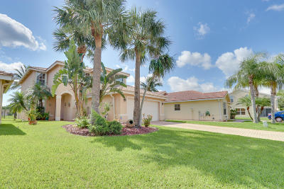 Greenacres Single Family Home Contingent: 5310 Moon Shadow Lane