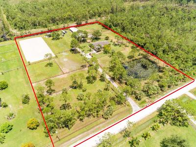 Acerage, Acreage, Acreage & Unrec, Acreage& Unrec, Acreage&unrec, Acreage, Loxahatchee, Acreage/Royal Ascott, Areage, Loxahatchee, Loxahatchee/Acreage, Royal Ascot Estates, Royal Palm Beach Acreage, The Acreage, The Acreage/Loxaha, Acarage Single Family Home For Sale: 3624 Dellwood Boulevard