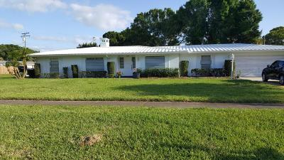 Fort Pierce Single Family Home For Sale: 1001 Grandview Boulevard