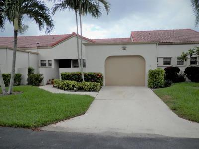 Boynton Beach Single Family Home For Sale: 5874 Parkwalk Circle W