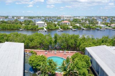 Mayfair House Condo For Sale: 3589 S Ocean Boulevard #810