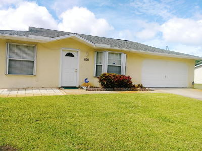 Vero Beach Single Family Home Contingent: 826 19th Place SW