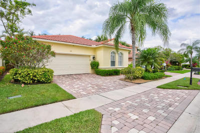 Palm Beach Gardens Single Family Home For Sale: 185 Via Condado Way