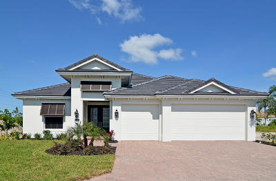Vero Beach Single Family Home For Sale: 1353 Lily's Cay Circle