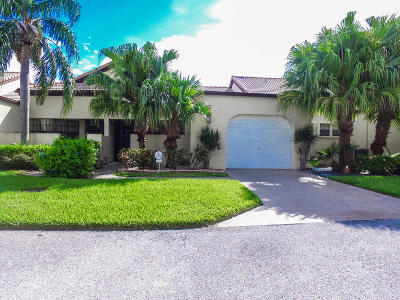 Boynton Beach Single Family Home For Sale: 8265 Waterline Drive