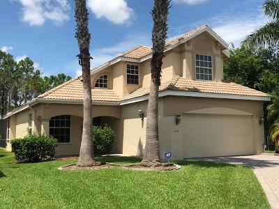 Port Saint Lucie Single Family Home For Sale: 658 SW Munjack Cove