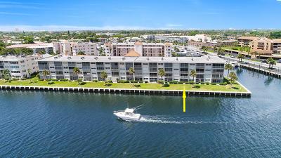 North Palm Beach Condo Contingent: 20 Yacht Club Drive #103