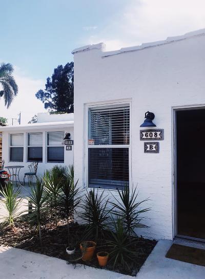 Delray Beach Multi Family Home For Sale: 608 SE 3rd Avenue