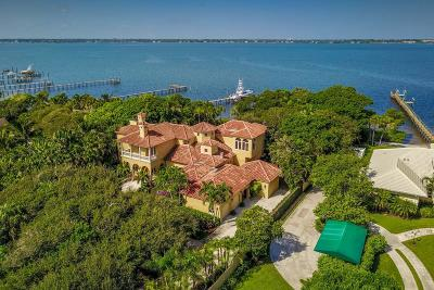 Stuart Single Family Home For Sale: 1912 NE Ocean Boulevard