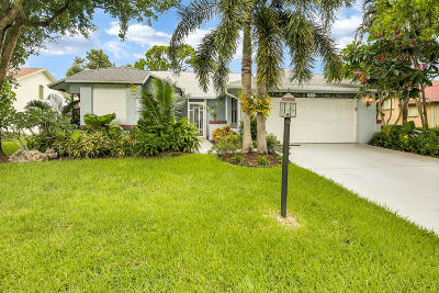 Delray Beach Single Family Home For Sale: 16742 Willow Creek Drive