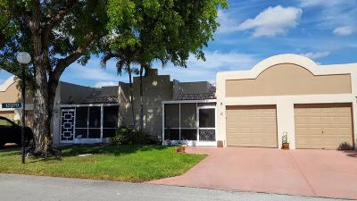 Boca Raton Single Family Home Contingent: 18970 Stewart Circle #4