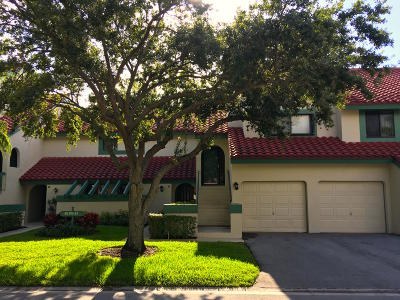 Palm Beach Gardens Single Family Home For Sale: 25 Lexington Lane W #C