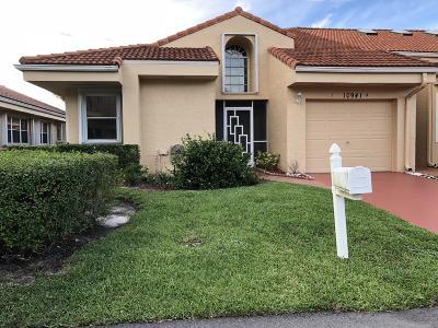 Boca Raton Single Family Home For Sale: 10941 Lakemore Lane #A
