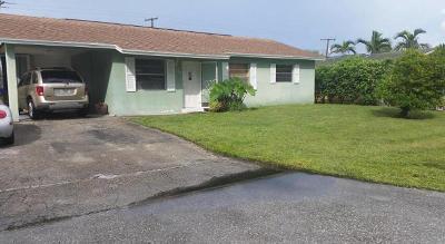 Jupiter Single Family Home For Sale: 1231 Cherokee Street