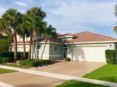 Boca Raton Single Family Home For Sale: 11134 Harbour Springs Circle