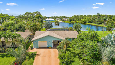 Hobe Sound Single Family Home For Sale: 5984 SE Orange Blossom Trail
