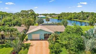 Hobe Sound Single Family Home For Sale: 5984 SE Orange Blossom Trail