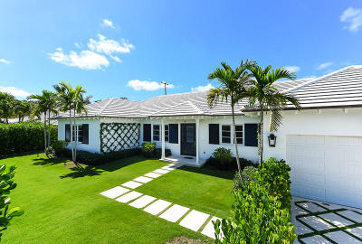 Palm Beach FL Single Family Home For Sale: $4,295,000