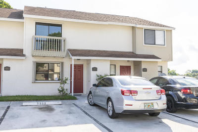 Greenacres Townhouse For Sale: 5202 Bayside Drive