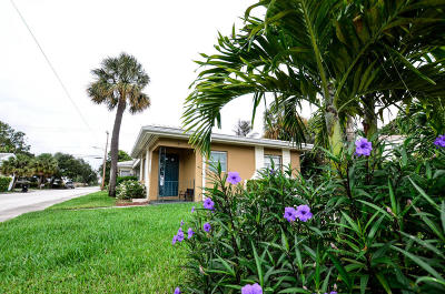 Lake Worth Multi Family Home For Sale: 130 Palmway #1-4