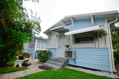 Lake Worth Multi Family Home For Sale: 216 S M Street #1-5