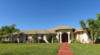 Vero Beach Single Family Home For Sale: 7325 65th Street