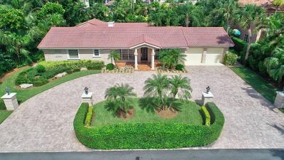 Estancia West, Estates Boca Lane, Estates Section, The Estates Single Family Home For Sale: 1133 Cocoanut Road