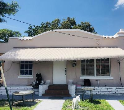 Miami Single Family Home For Sale: 1854 NW 6 Street