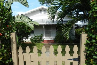 Lake Worth Single Family Home For Sale: 528 J Street