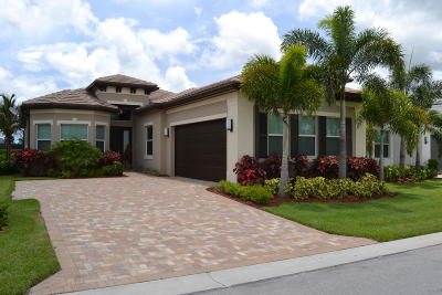 Boynton Beach Single Family Home Contingent: 12802 Bonnington Range Drive
