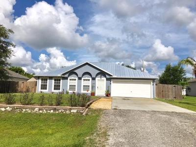 Vero Beach Single Family Home For Sale: 8755 105th Avenue