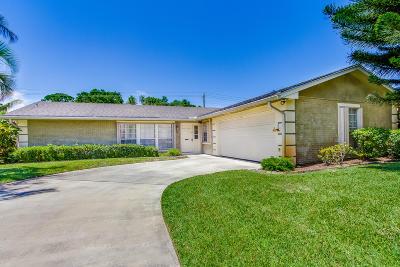 Delray Beach Single Family Home Contingent: 3607 Avenue Montresor