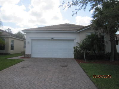 Port Saint Lucie Single Family Home For Sale: 10033 SW Stonegate Drive