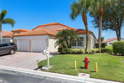 Delray Beach Single Family Home For Sale: 15217 S Tranquility Lake Drive