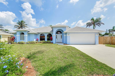 Fort Pierce Single Family Home For Sale: 1934 Cypress Avenue