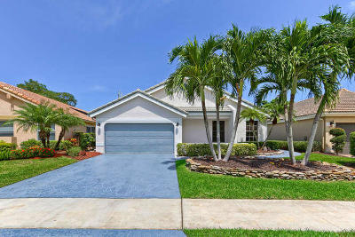 Boca Raton Single Family Home For Sale: 21374 Bridgeview Drive