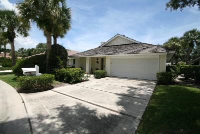 Jupiter Single Family Home For Sale: 17005 Freshwind Circle