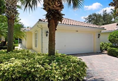 Palm Beach Gardens Single Family Home For Sale: 129 Euphrates Circle