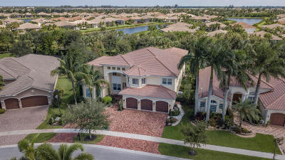 Boynton Beach Single Family Home For Sale: 11866 Windmill Lake Drive