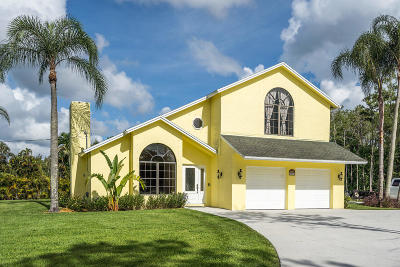 Palm Beach Gardens Single Family Home For Sale: 15217 84th Avenue
