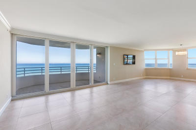 Highland Beach Condo For Sale: 3407 S Ocean Boulevard #4a