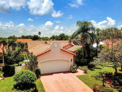 Delray Beach Single Family Home Contingent: 5320 Casa Real Drive