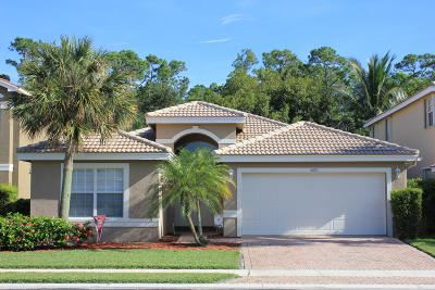 Greenacres Single Family Home For Sale: 5010 Sabreline Terrace