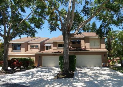 Boca Raton Townhouse For Sale: 6707 Boca Pines Trail #C