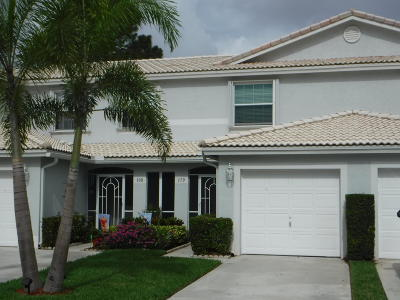 Jupiter Townhouse For Sale: 110 Fox Meadow Run