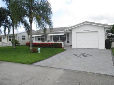 Boynton Beach Single Family Home For Sale: 1900 SW 21st Avenue