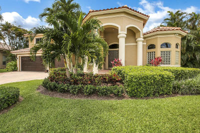 Boca Raton Single Family Home For Sale: 20029 Palm Island Drive
