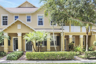 Jupiter Townhouse For Sale: 355 E Bay Cedar Circle