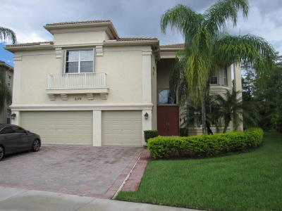 Royal Palm Beach Single Family Home Contingent: 2178 Bellcrest Circle